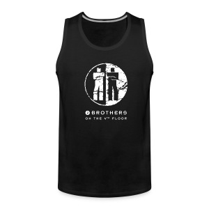 Black men tank top - Men's Premium Tank Top
