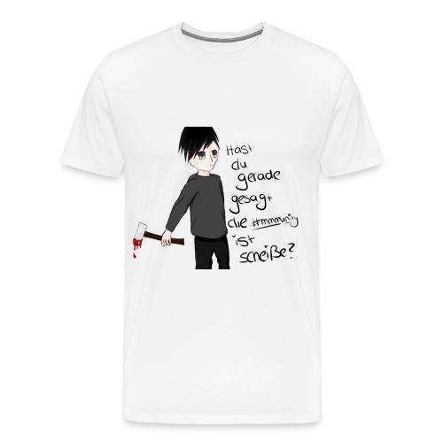 Anime Männer Shirt - Männer Premium T-Shirt