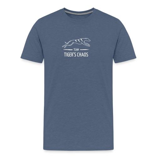 Miesten t-paita - kanervansininen - Miesten premium t-paita