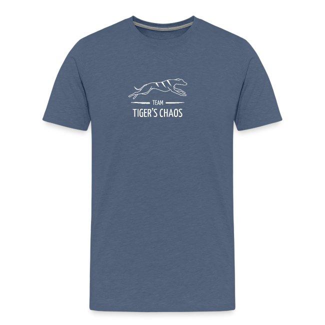 Miesten t-paita - kanervansininen