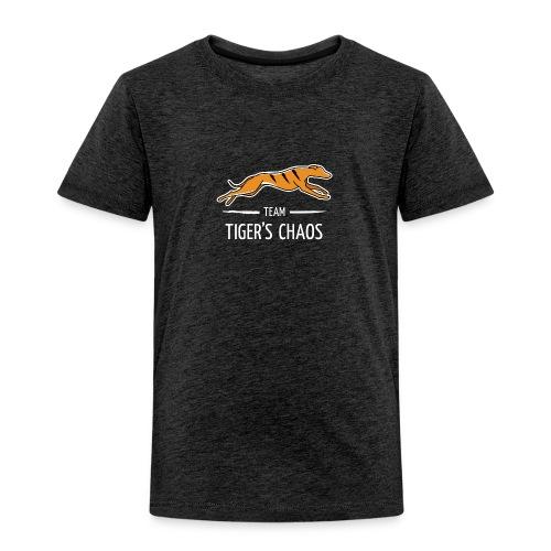 Lasten t-paita - tummanharmaa - Lasten premium t-paita