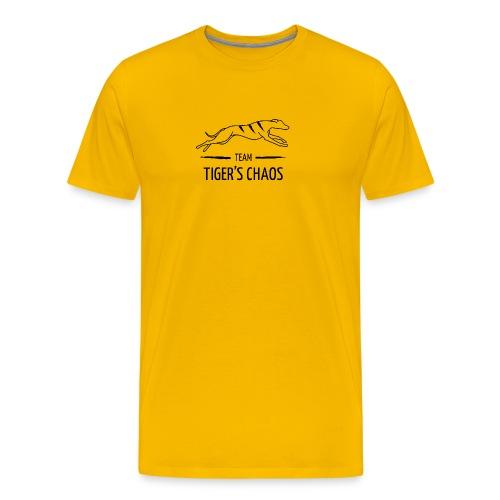Miesten t-paita - keltainen - Miesten premium t-paita
