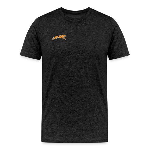 Miesten t-paita - tummanharmaa - Miesten premium t-paita