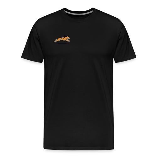 Miesten t-paita - musta - Miesten premium t-paita