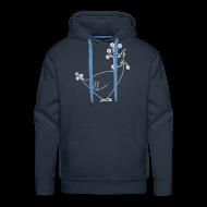 Hoodies & Sweatshirts ~ Men's Premium Hoodie ~ Unisex fun Hen Motif Hoodie Sweatshirt