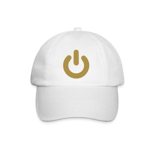 berretto da baseball con power oro - Cappello con visiera