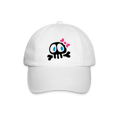 cappellino invernale con lady skull - Cappello con visiera