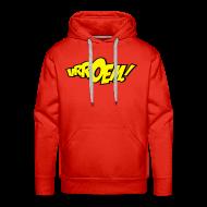 Sweaters ~ Mannen Premium hoodie ~ hooded sweater vrroem