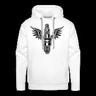 Sweaters ~ Mannen Premium hoodie ~ hooded sweater met bougie
