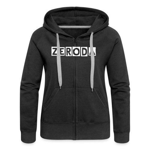 Zeroda Womans Hooded Jacket - Women's Premium Hooded Jacket