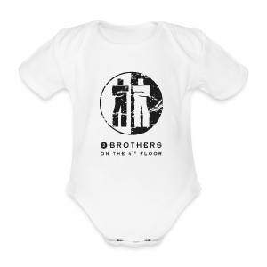 Baby body white - Organic Short-sleeved Baby Bodysuit