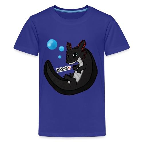 Schwimmender Ohnezahn Teenieshirt - Teenager Premium T-Shirt