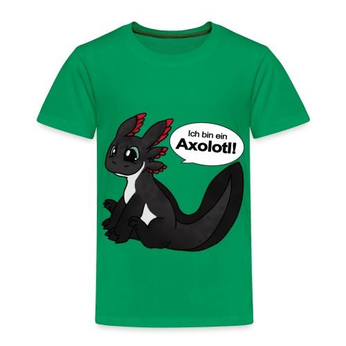 Ich bin ein Axolotl! melanoid Version Kindershirt - Kinder Premium T-Shirt