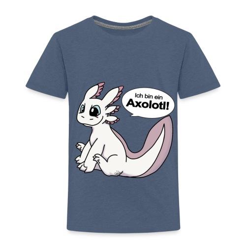 Ich bin ein Axolotl! Weißling Version Kindershirt - Kinder Premium T-Shirt