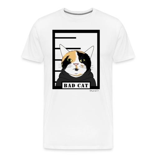 Bad cat - Men's Premium T-Shirt