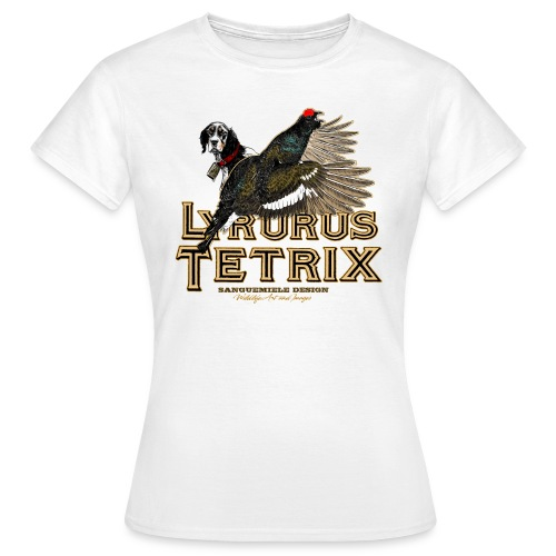 lyrurus tetrix - Maglietta da donna