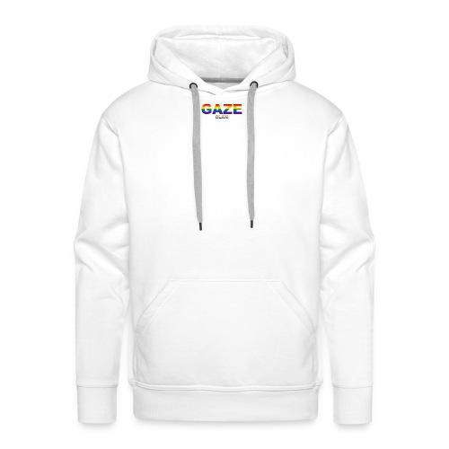 Rainbow GAZE Basic Hoodie - Men's Premium Hoodie
