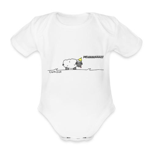 mouton fou baby - Body bébé bio manches courtes