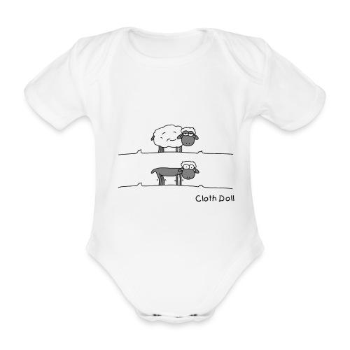 mouton tondu baby - Body bébé bio manches courtes