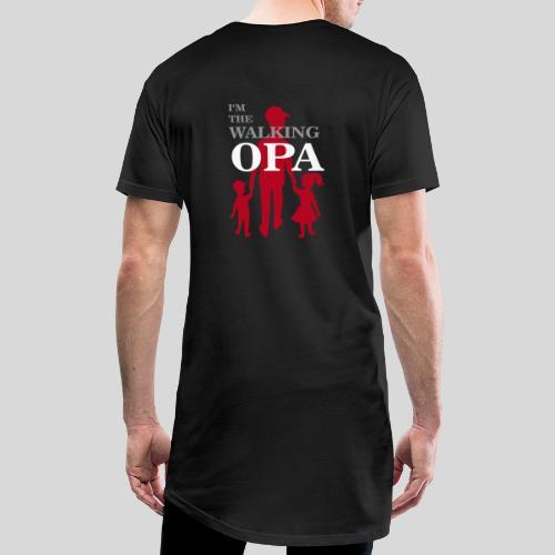 The Walking Opa - Männer Urban Longshirt