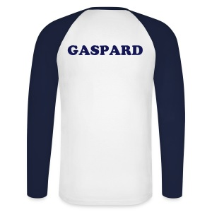 Gaspard - T-shirt baseball manches longues Homme