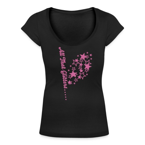 All That Glitters..... - Women's Scoop Neck T-Shirt