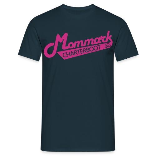 T-Shirt | Modelogo Magenta - Männer T-Shirt