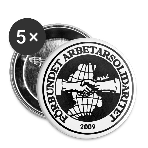 Logo - Badge - 56 mm - Stora knappar 56 mm