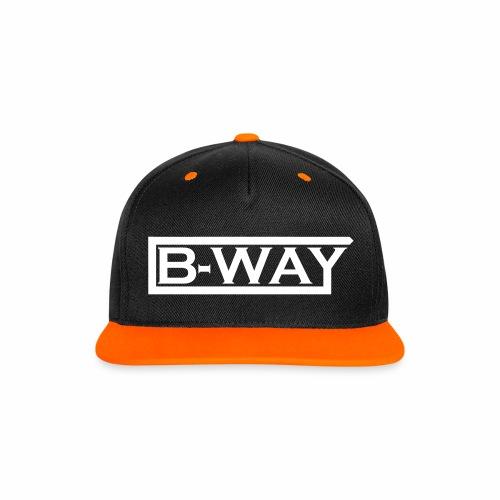 BW Cap 01 - Kontrast Snapback Cap