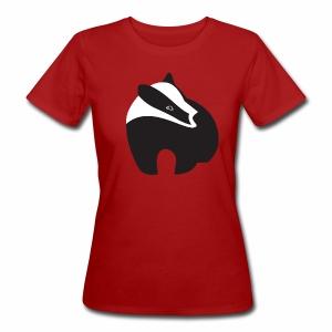 Dames-T-shirt bio 'Logo das' - Vrouwen Bio-T-shirt