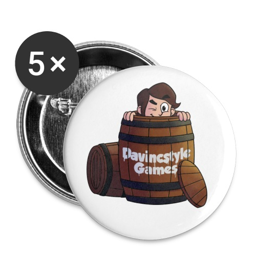 Vincent in Ton - Buttons - Buttons klein 25 mm (5-pack)