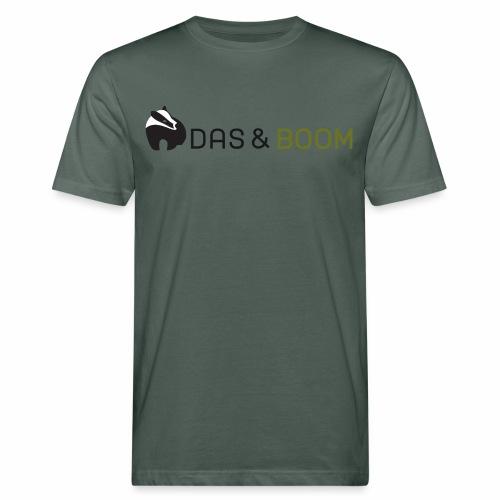 Heren-T-shirt bio 'Logo Das&Boom' - Mannen Bio-T-shirt