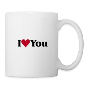 I Love You - Tasse - Tasse