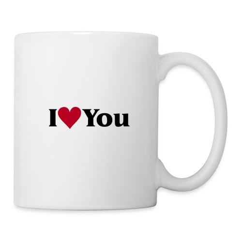 I Love You - Tasse - Tasse