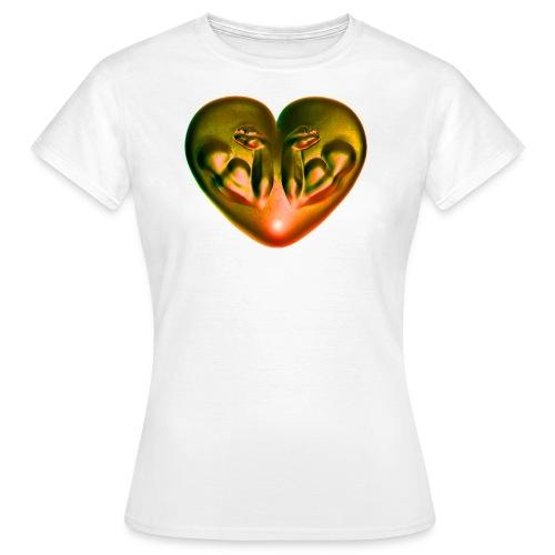 Heart Fitness Fire - Frauen T-Shirt