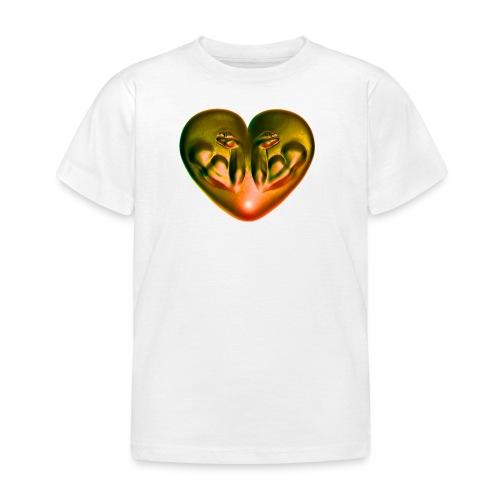Heart Fitness Fire - Kinder T-Shirt