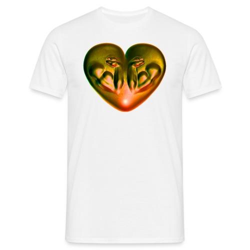 Heart Fitness Fire - Männer T-Shirt