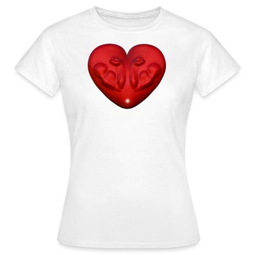 Heart Fitness Red - Frauen T-Shirt