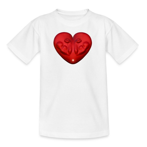 Heart Fitness Red - Kinder T-Shirt
