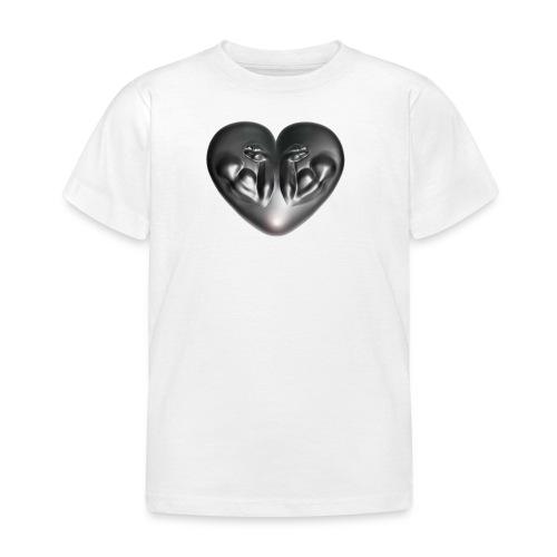Heart Fitness Silver - Kinder T-Shirt
