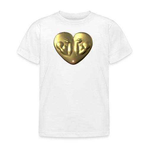 Heart Fitness Gold - Kinder T-Shirt