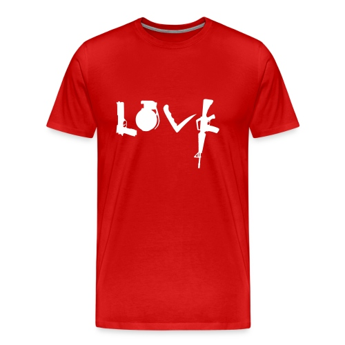 Love Weapons - Mannen Premium T-shirt