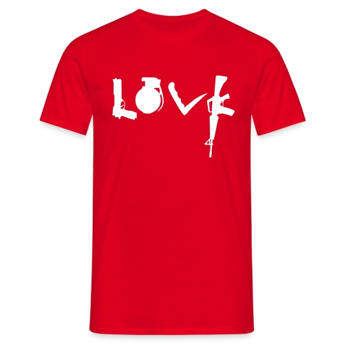 Love Weapons - Mannen T-shirt