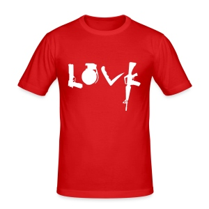 Love Weapons - slim fit T-shirt