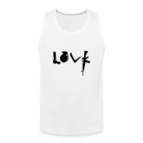 Love Weapons - Mannen Premium tank top