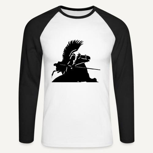 Husarz wg. Bendy (bluza) - Koszulka męska bejsbolowa z długim rękawem