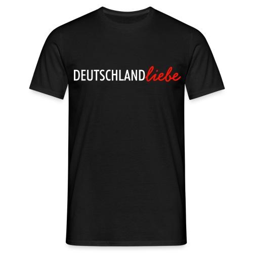 Deutschland Liebe Herren T-Shirt - Männer T-Shirt