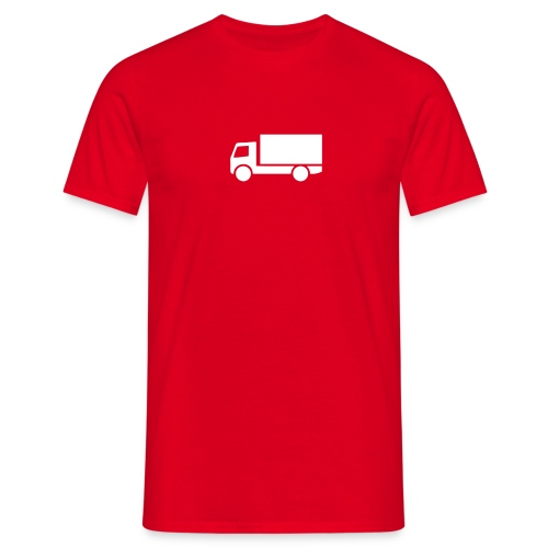 Lastebil - T-skjorte for menn