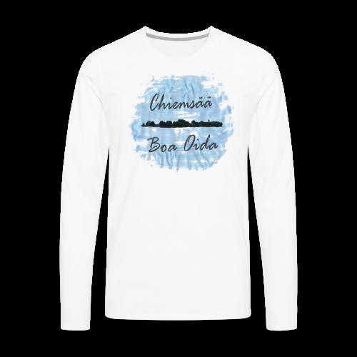Chiemsää Boa Oida - Männer Premium Langarmshirt