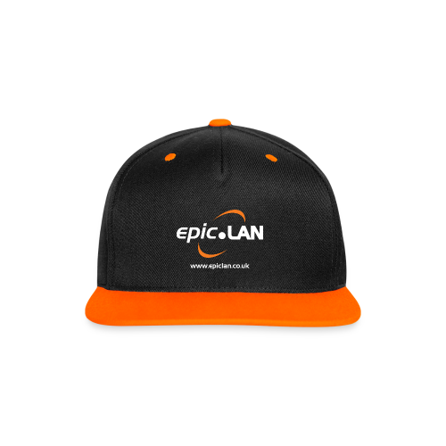 epic.Snapback Orange - Contrast Snapback Cap